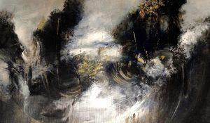 Travelling Trees, 112 x 123 cm, Oil on canvas, 2013. Fernando Velazquez