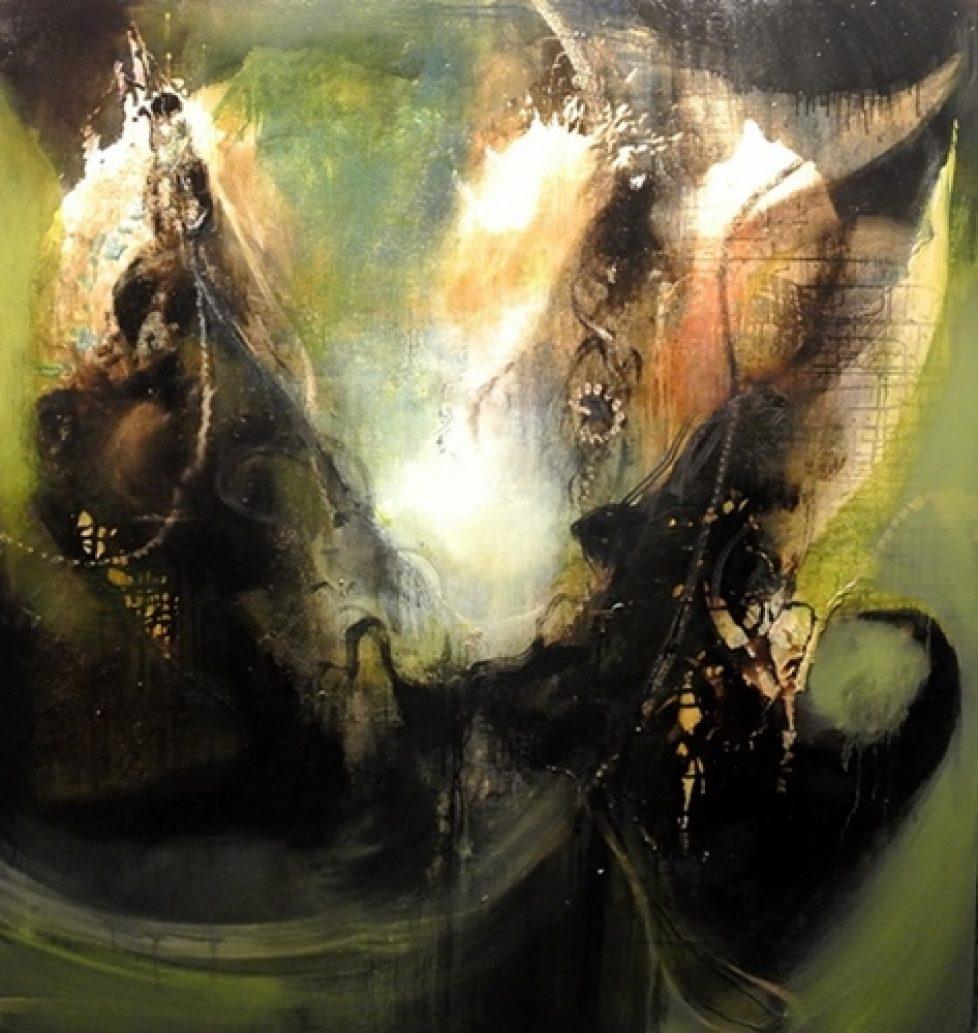 Rey 155 x 145 cm Oil on canvas 2014