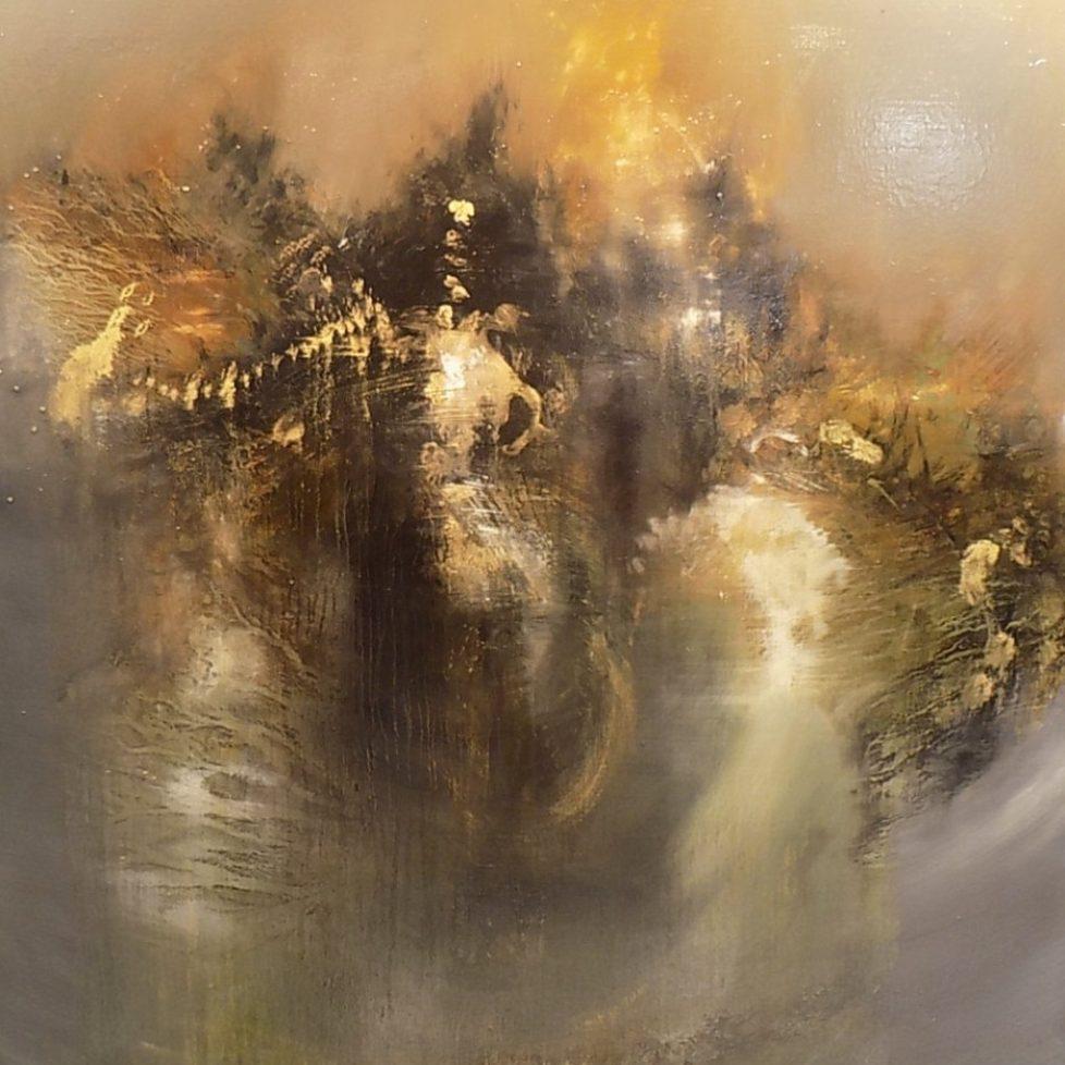 Water Cloud 122 x 112cm Oil on canvas Fernando Velazquez
