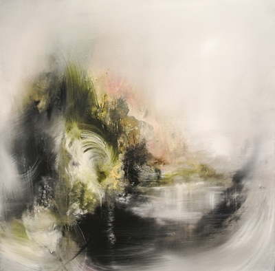 Viento 50 x 50 cm Oil on canvas 2016 Fernando Velazquez
