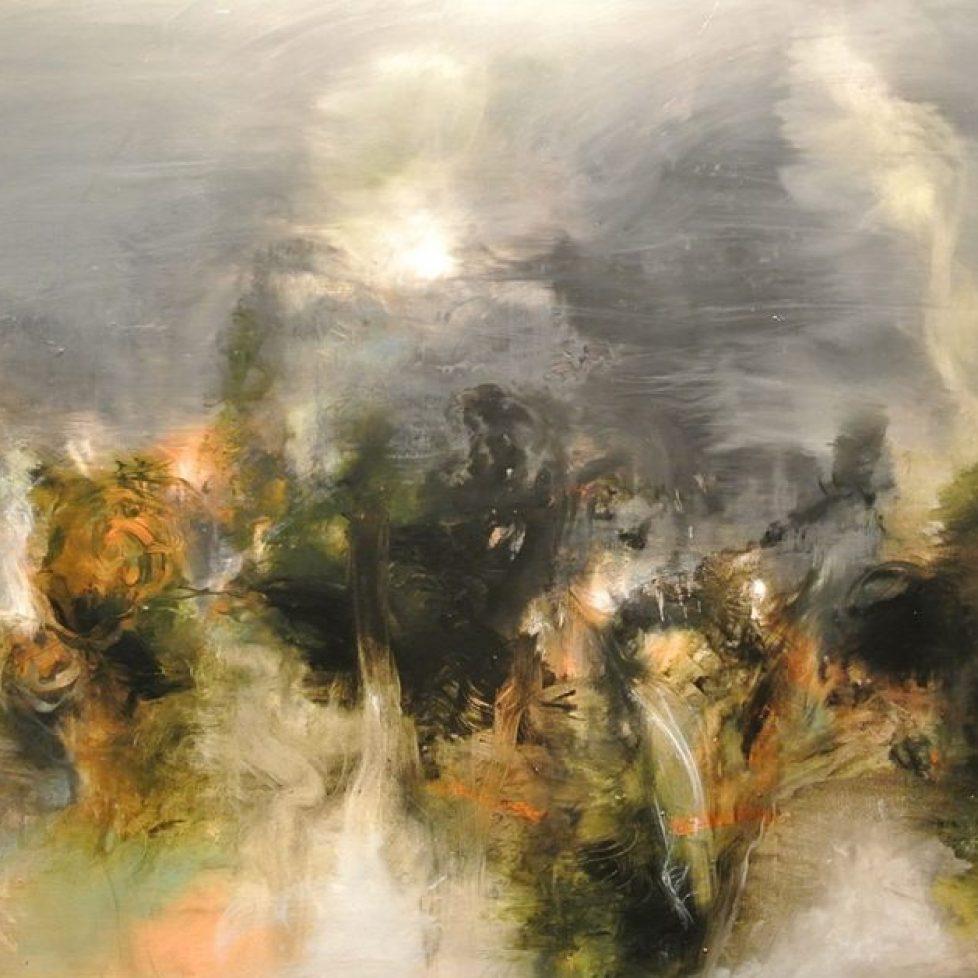 Sombras - 100 x 160 cm, Oil on canvas, 2017