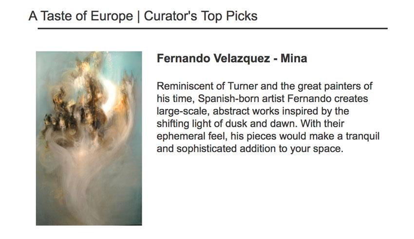Fernando Europe Top Ten Rise Art