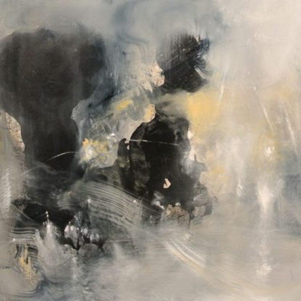 Mist,-Light-and-Stones-50-x-120-cm-Oil-on-canvas