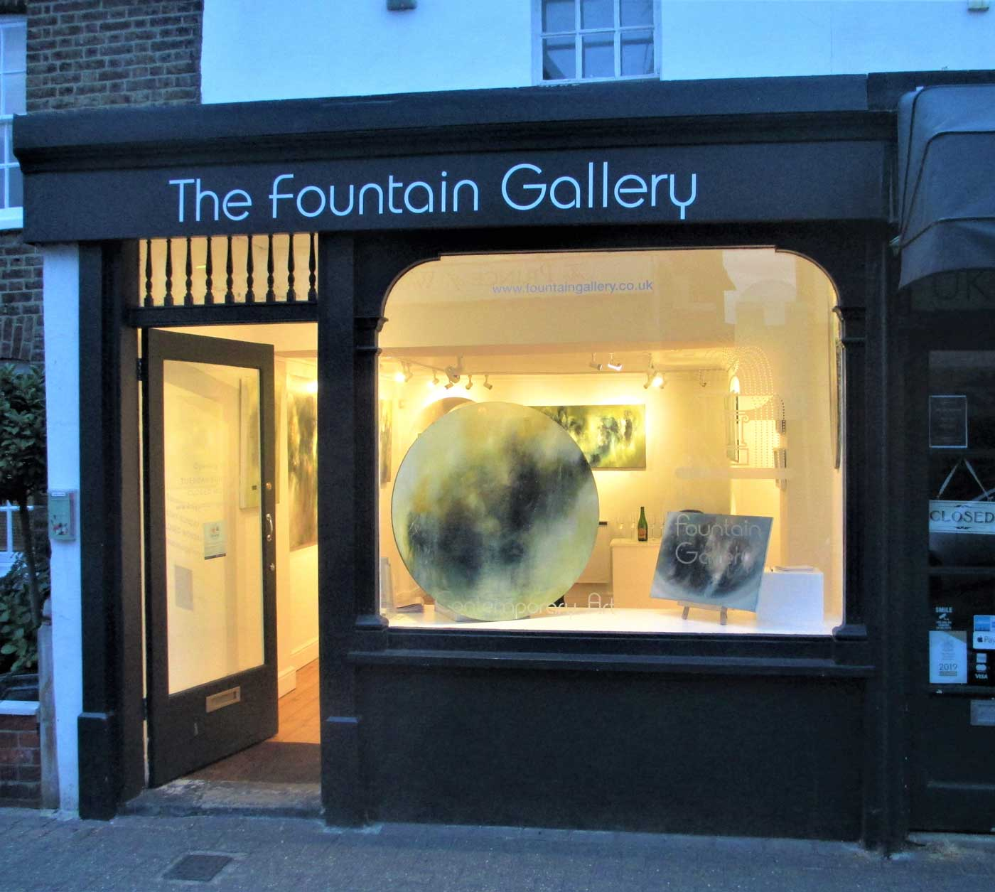 Fernando Velazquez at the Fountain Gallery, Surrey
