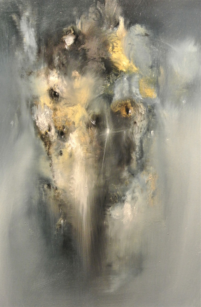 Lost God, Oil on Canvas, 51 x 76 cm.